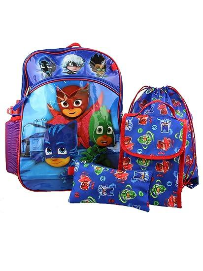 5860c887ab9 PJ Masks 5 piece Backpack School Set (One Size