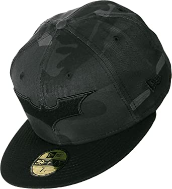 1948852dfef5f Gorra 59Fifty Camo Batman Fitted by New Era gorra de baseballgorras visera  plana gorra de baseball  Amazon.es  Ropa y accesorios