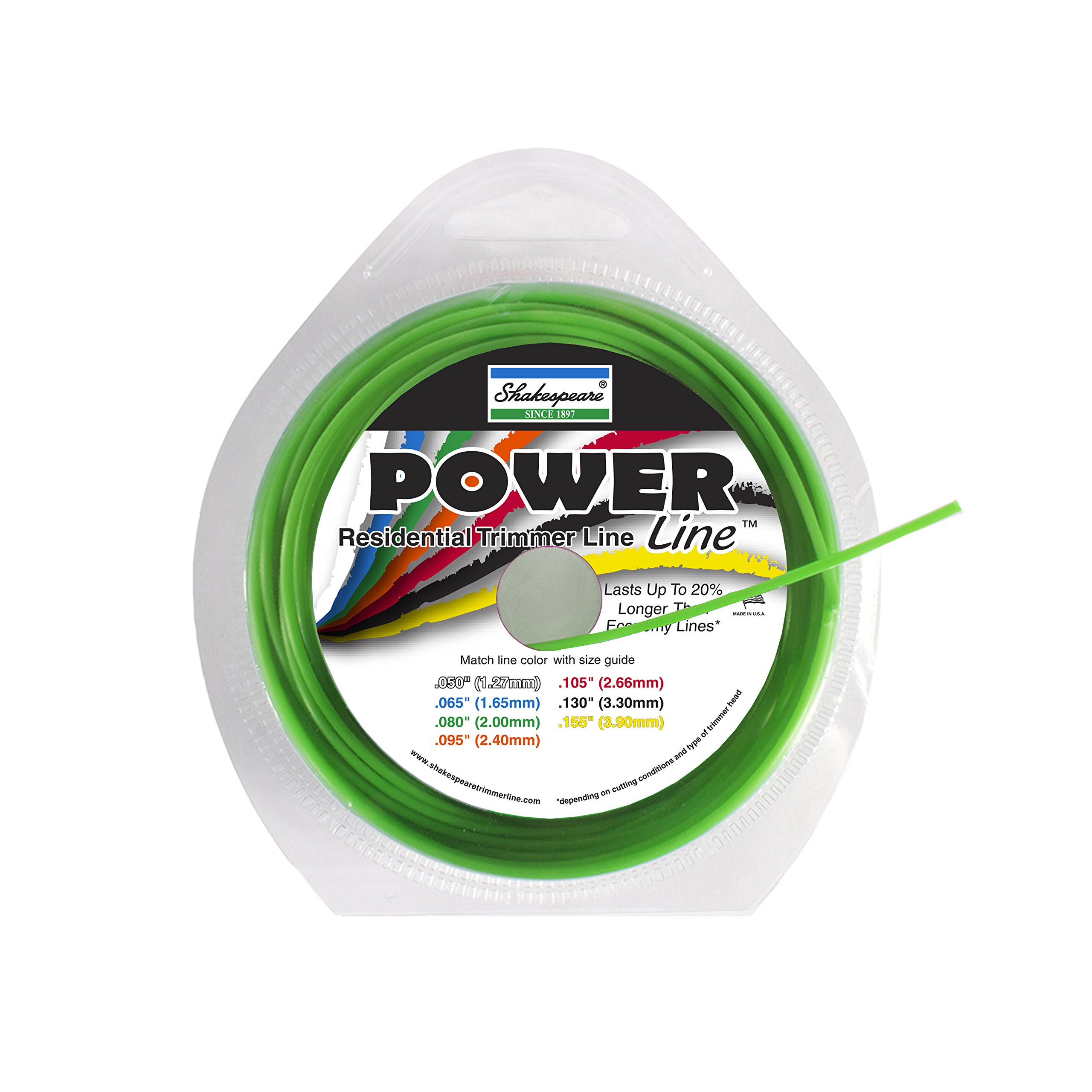 Shakespeare Power Line .080'' Round 50' Loops