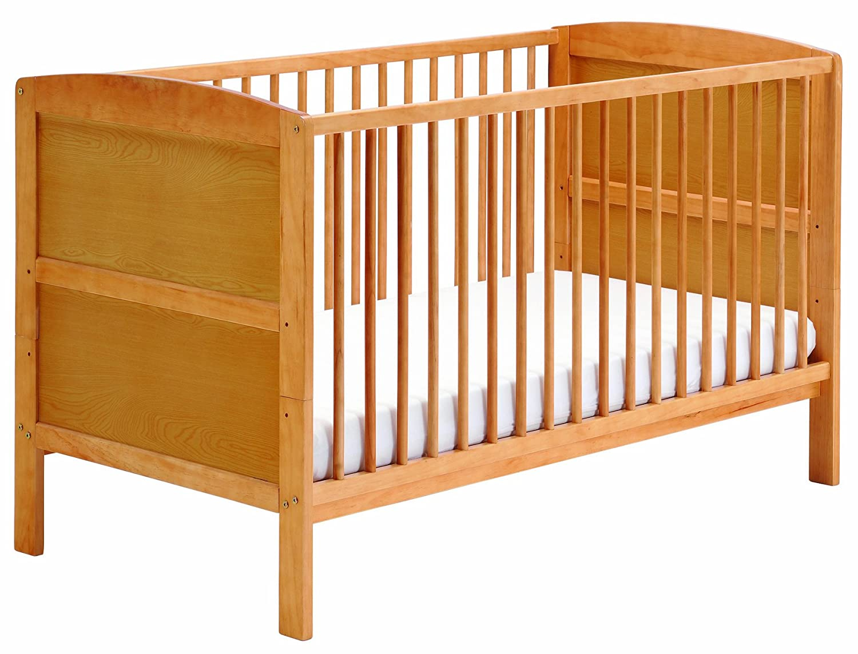 East Coast Hudson Cot Bed Antique Amazoncouk Baby