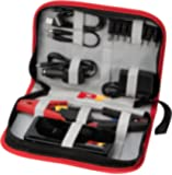 Performance Tool W1677 11000mAh, Emergency Jump Starter with Smart Cable Technology and Portable Charging Bank