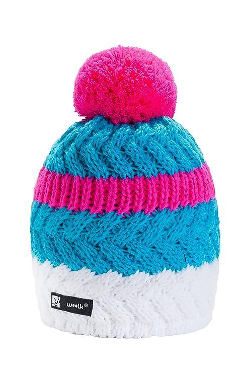 MFAZ Morefaz Ltd Unisex Winter Cappello Invernale di Lana Berretto Uomo  Donna Beanie Hat Sci Snowboard d5acdb8b7852
