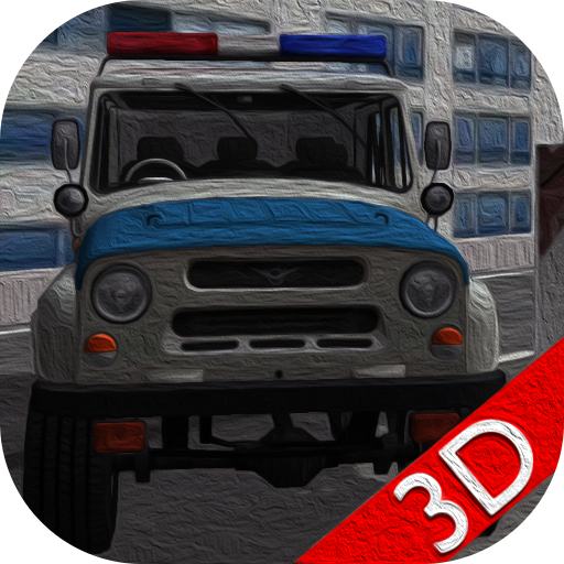 Jeep Police Traffic Pursuit 3D
