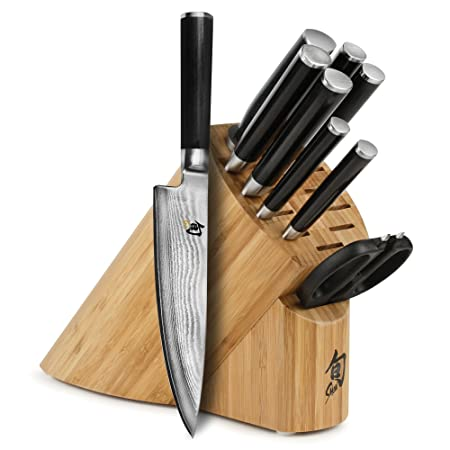 Shun Classic 10 Piece Knife Block Set by Shun