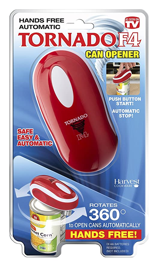 amazon com tornado f4 can opener new and improved safest