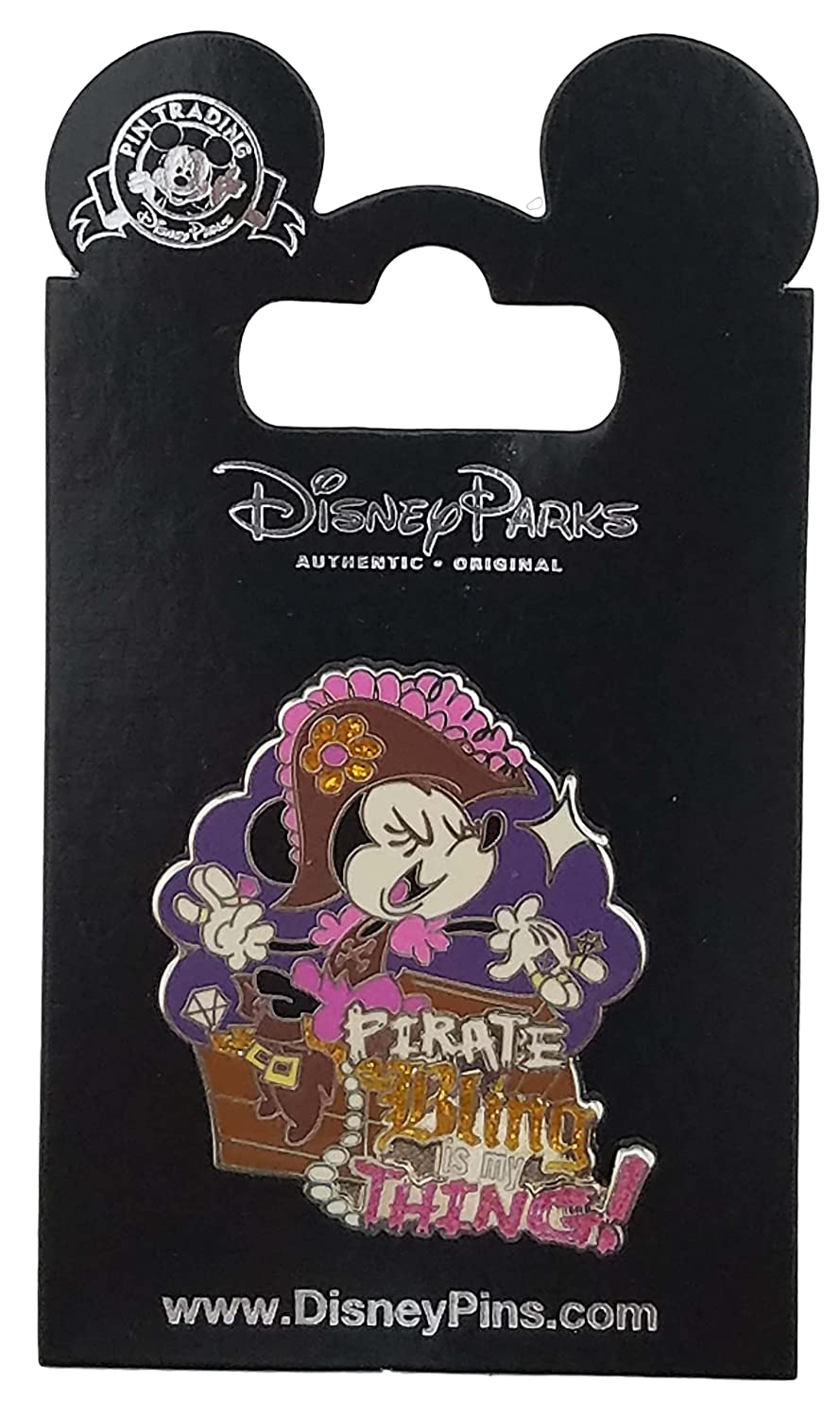 Disney Pin - Minnie Mouse - Pirate Bling is my Thing
