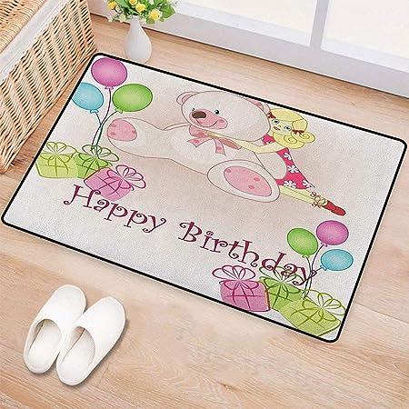 Alfombrilla de baño para niños para cumpleaños, interior ...