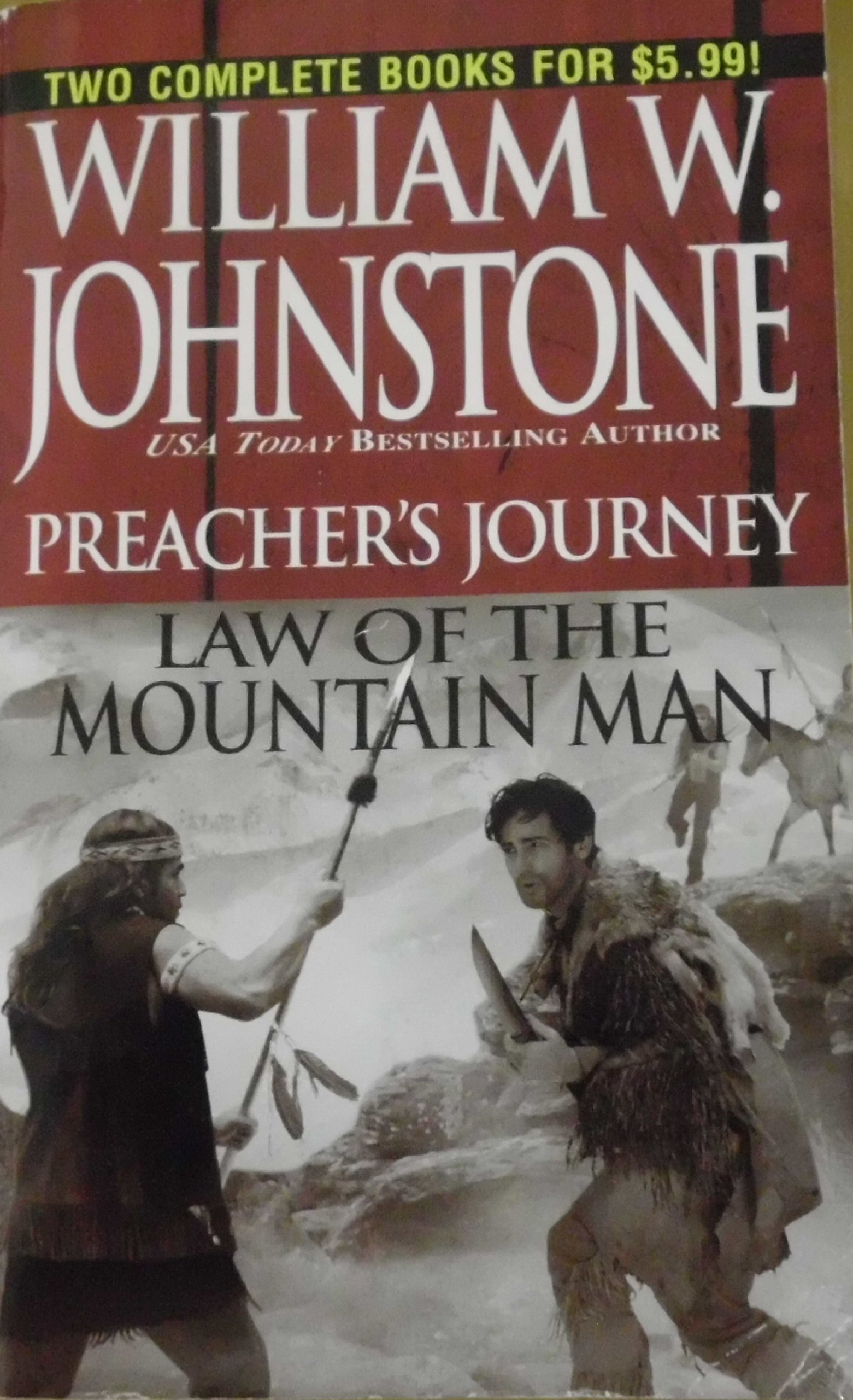 Preacher's Journey / Law of the Mountain Man (2-in-1 book) PDF