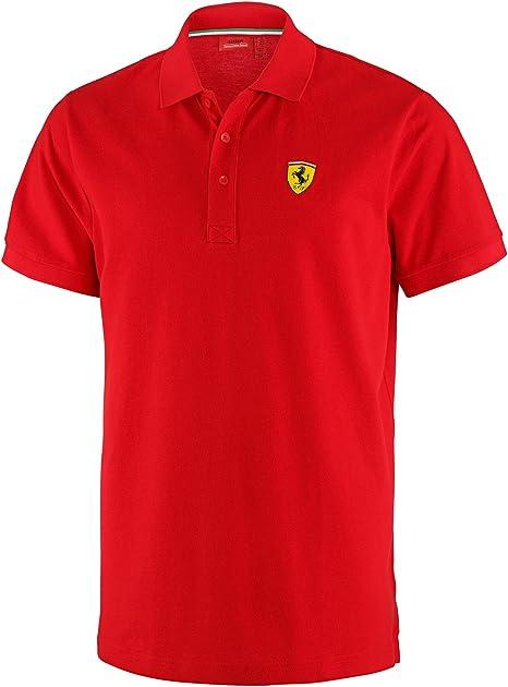 FERRARI Fórmula 1 - Camiseta Tipo Polo, Color Rojo Talla:Extra ...