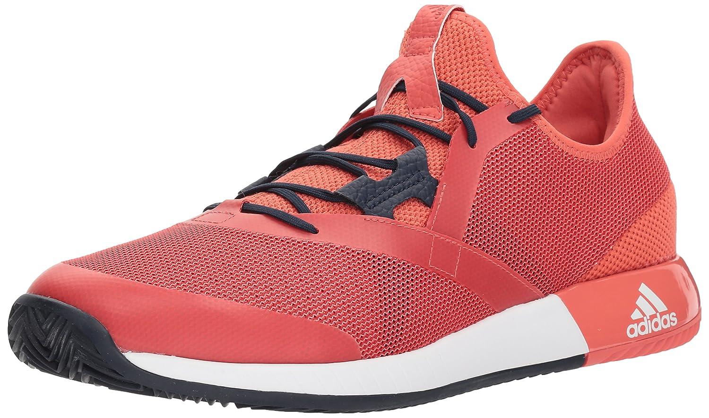 adidas Men's Adizero Defiant Bounce Tennis Shoe B0711S2RW8 8 D(M) US|Trace Scarlet/White/Night Navy