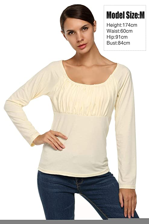 62286164ac5 Kindsells Plus Size Tunics for Juniors Long Sleeve Tunic top Tops with  Straps Blouses at Amazon Women s Clothing store