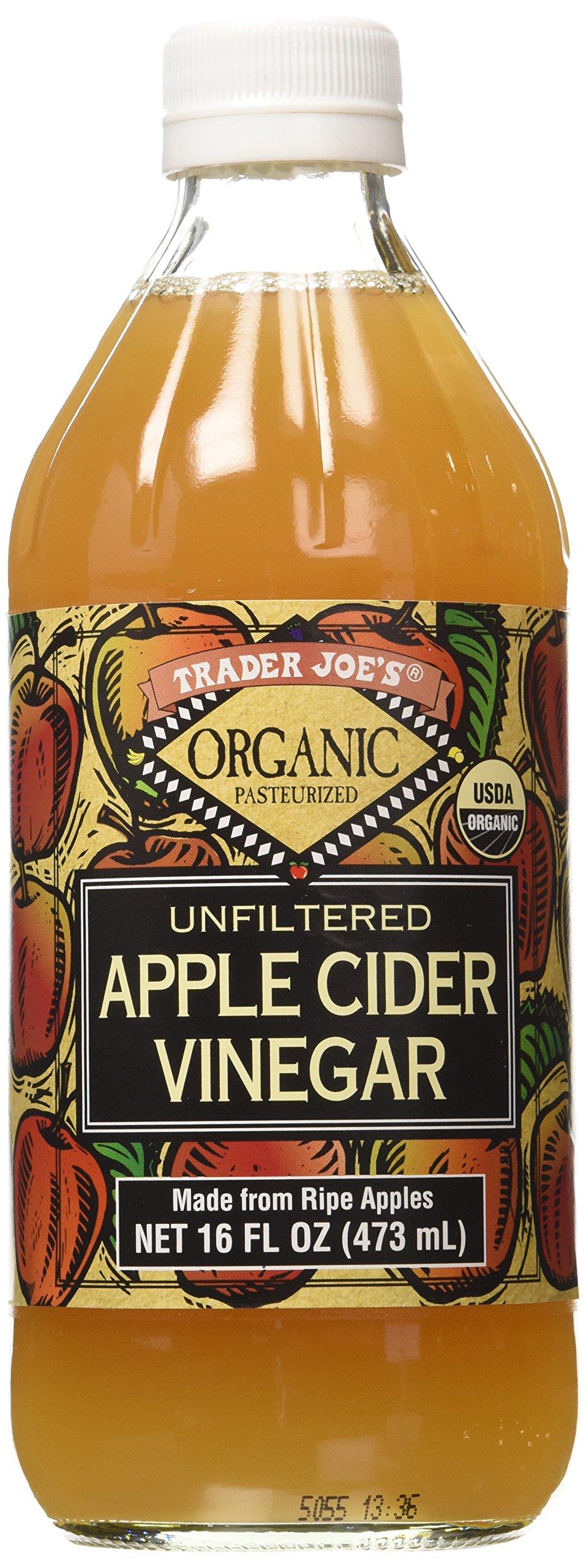 Trader Joe's Organic Pasteurized Unfiltered Apple Cider Vinegar