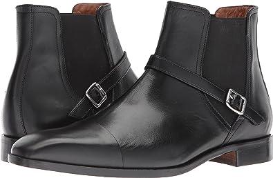 Massimo Matteo Chelsea Buckle Boot