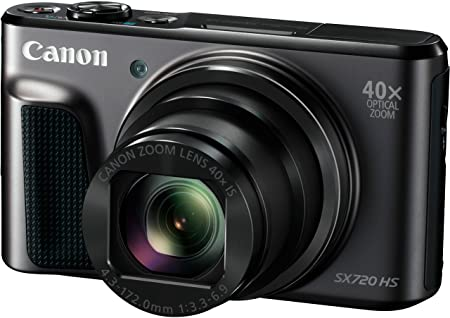 Canon PowerShot SX720 HS Digitalkamera (20,3 Megapixel, 40 x Zoom, 7,5 cm (3 Zoll) LCD-Display, Full HD, CMOS-Sensor, WLAN) s