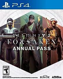 28a2babb730 Amazon.com  Destiny 2  Forsaken Annual Pass - PS4  Digital Code ...