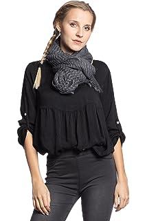 Abbino CG002 Schals für Frauen Damen - Viele Farben - Feminin Mode Elegant Übergang  Herbst Winter 23b04a5e07
