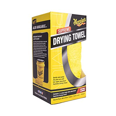 MEGUIAR'S Supreme Microfibre Drying Towel Extra Large: Automotive