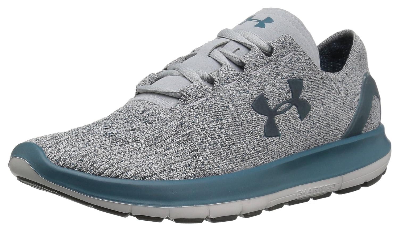 Under Armour Women's Speedform Slingride Tri Running Shoe, Overcast Gray/Glacier Gray/Marlin Blue B01GSRLSHW 7.5 M US Overcast Gray (943)/Glacier Gray