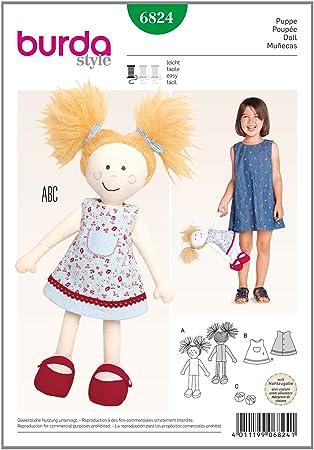 Burda Schnittmuster Puppe 6824: Amazon.de: Küche & Haushalt