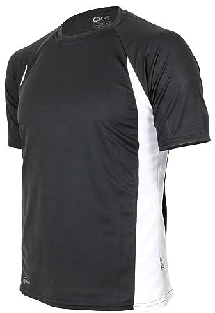 CONA RACER - Unisex - Kurzarm Funktionsshirt in 6 Farbvarianten erhältlich  XS,black-white