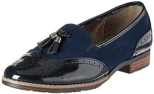 ec5103960c259 Soft Line (Jana)) 24260-805 Navy (Man-Made) Womens Shoes 39 EU ...