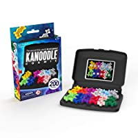 Educational Insights Kanoodle Cosmic, Brain Logic Game, Critical Thinking & Brain Teaser Puzzles, Ages 7+│Perfect Stocking Stuffer