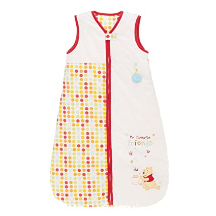 Disney Winnie The Pooh Saco de dormir para 0 – 6 meses (color blanco)