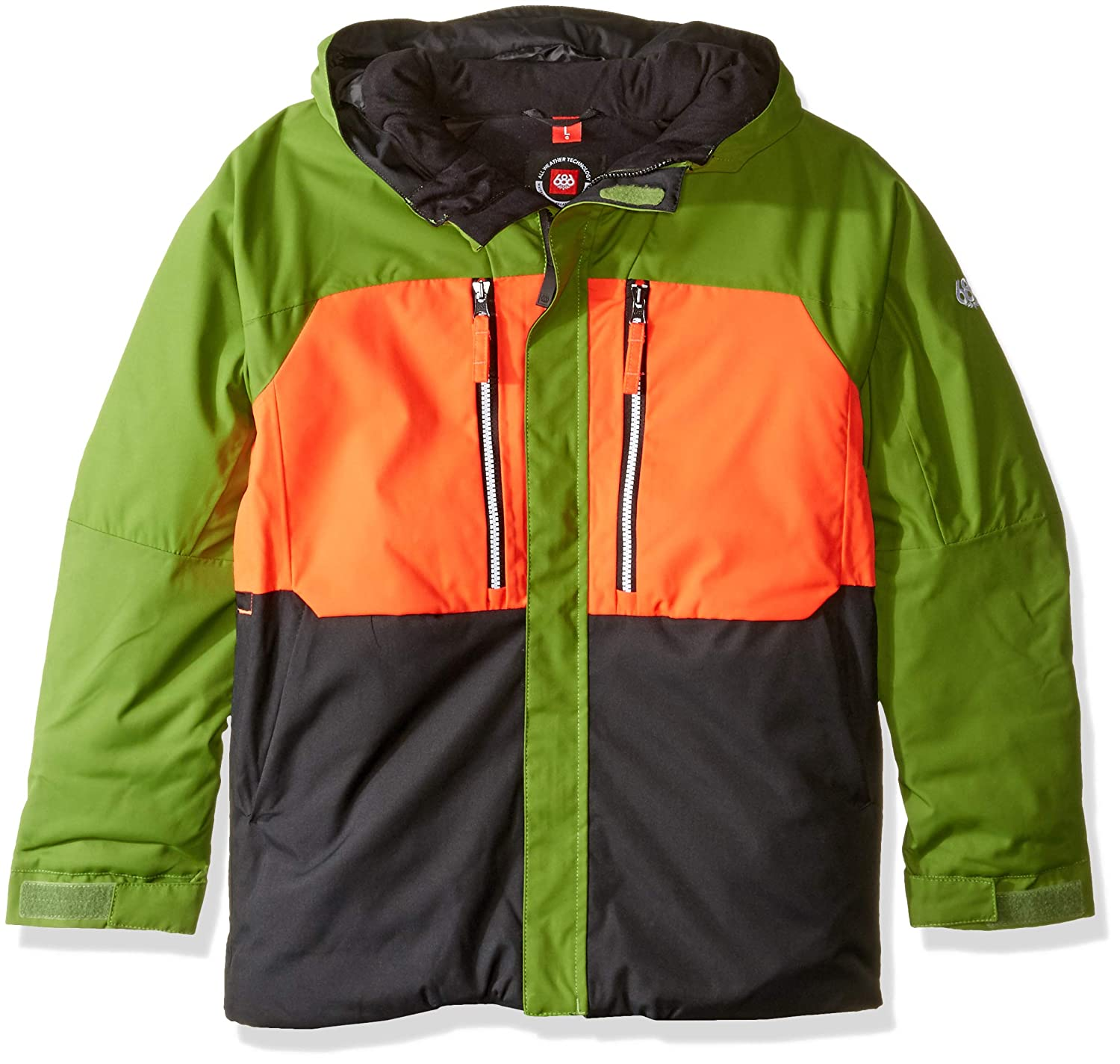 Image of 686 Boys' Ether Termagraph Jackets | Waterproof Ski/Snowboard Jackets
