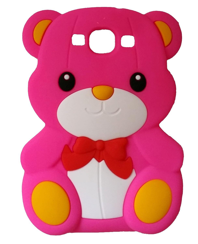 SKS Distribution® rosa caliente silicona corbata de lazo oso BOW ...