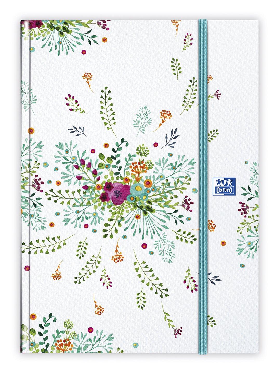 Oxford 100735837 Flowers Agenda Civil Journalier Année 2019 15 x 21 cm Fuchsia Hamelin
