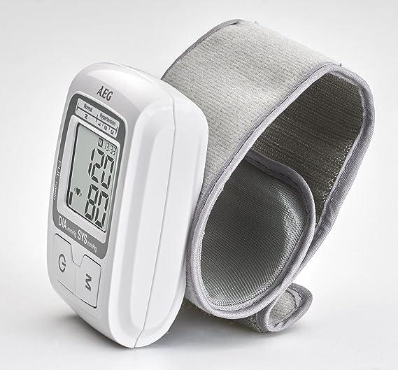 AEG BMG 5610 - Tensiómetro de muñeca, 60 espacios de memoria: AEG: Amazon.es: Salud y cuidado personal
