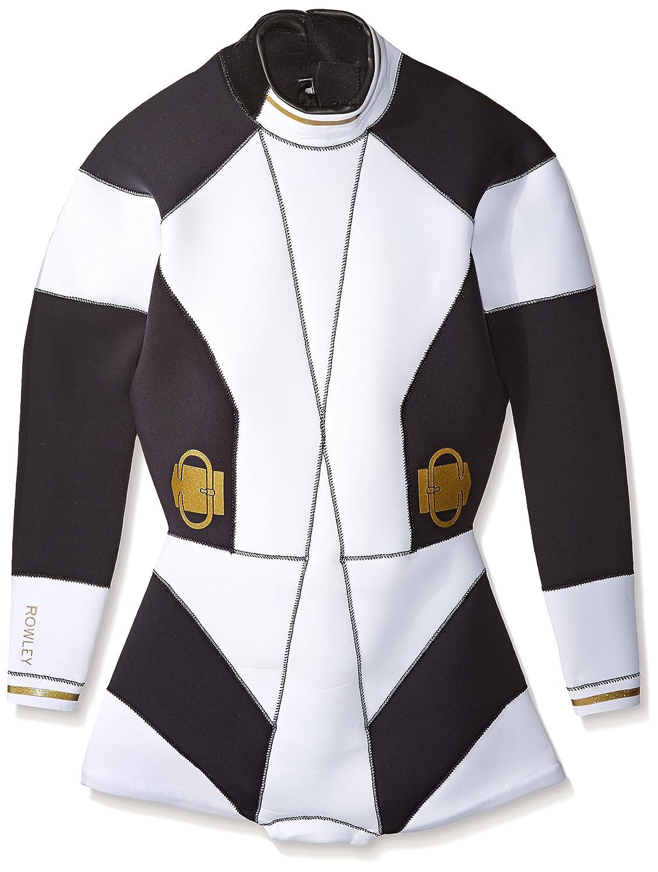 【2019正規激安】 Cynthia Rowleyレディースbuckle-detail fiber-lite Large Wetsuit Cynthia One Piece Swimsuit B017KHX228 ブラック fiber-lite/ホワイト Large, スカイラーク:28e32549 --- arianechie.dominiotemporario.com