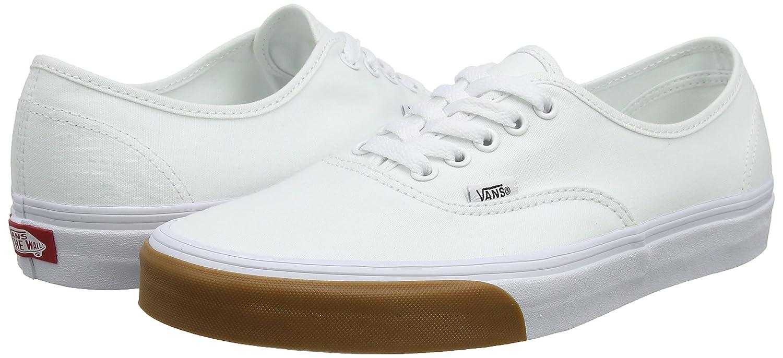 Vans Unisex-Erwachsene Authentic Bumper) Sneaker Weiß (Gum Bumper) Authentic cdc2e0