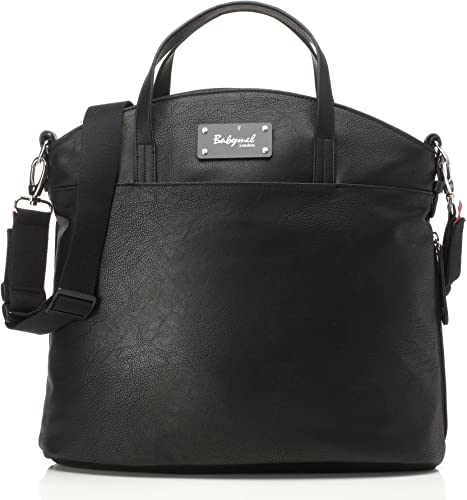 Babymel Grace Faux Leather Satchel Diaper Bag