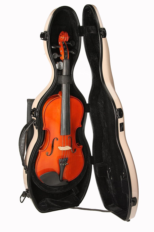 Estuche para violín Fibra de vidrio Ultra Light 4/4 perla M-Case