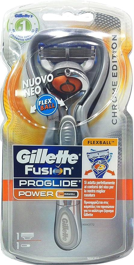 GILLETTE Fusion Proglide Power de Afeitar Flexball 1Ric Sistema ...
