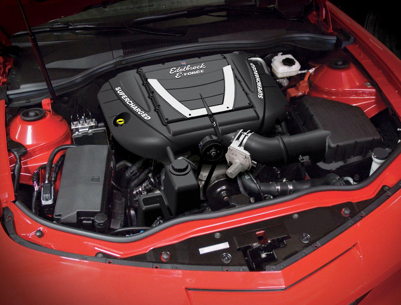 Amazon.com: Edelbrock EDL1598 E-Force Street Legal Supercharger Kit for  Camaro SS (Manual): Automotive