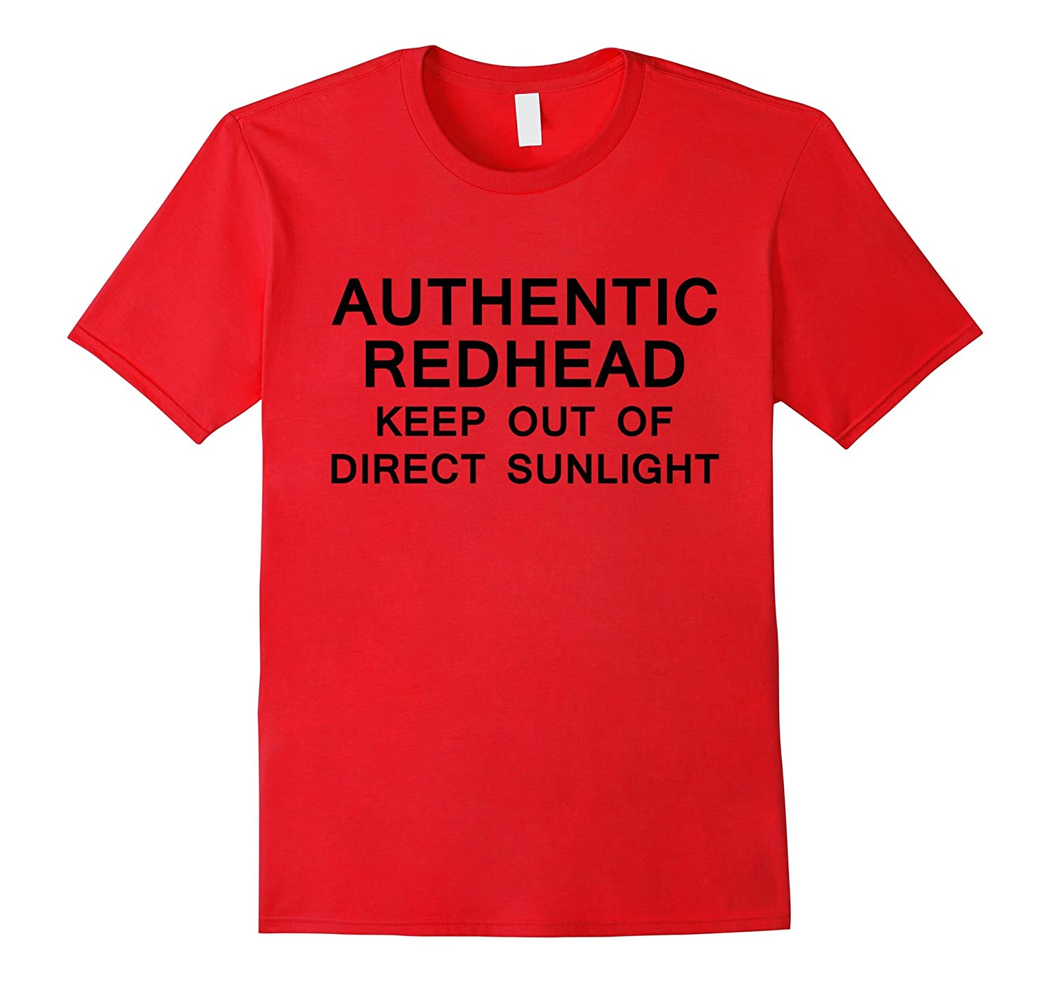 Authentic redhead keep out-CD