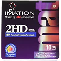3.5 Inch Floppy Diskettes, IBM-Formatted, DS/HD, 10/Box
