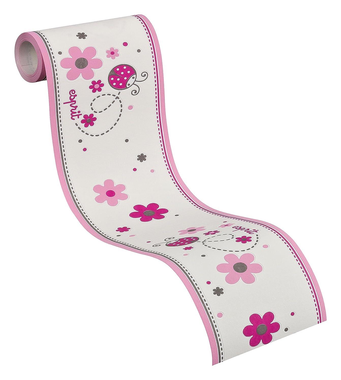 Esprit Kids 219312 Bordüre Lucky Love, Vlies, telemagenta, rosa ...