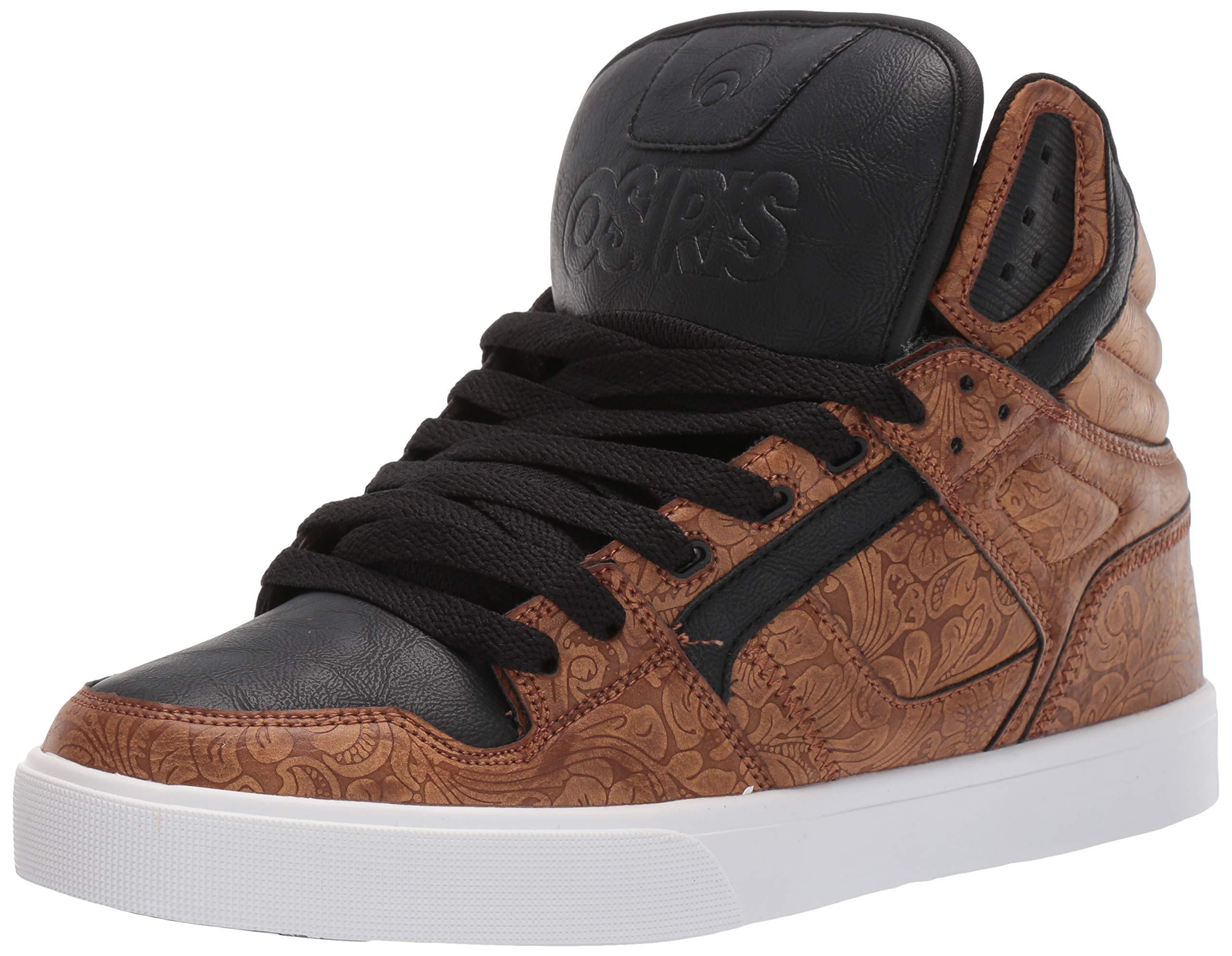 Osiris Men's Clone Skate Shoe High Plains/Brown 9 M US by Osiris