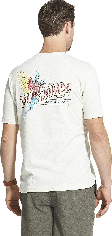 Mens Short Sleeve Graphic Tee T-Shirt G.H Bass /& Co