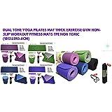 XMC Eco Friendly Non Slip Yoga Mat Wide Range of Multifunctional Premium Exercise Training Mat Exercise Mat