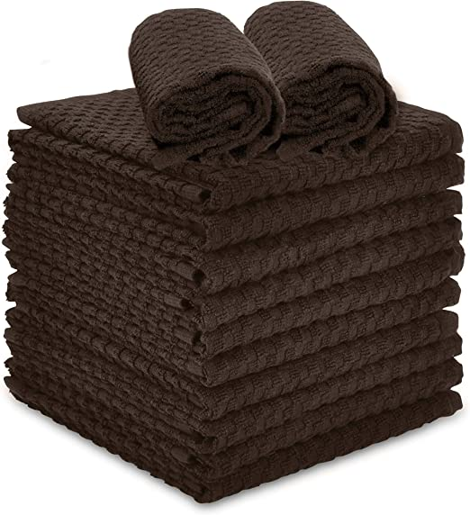 Set of 4 100/% Cotton Terry Kitchen Towels