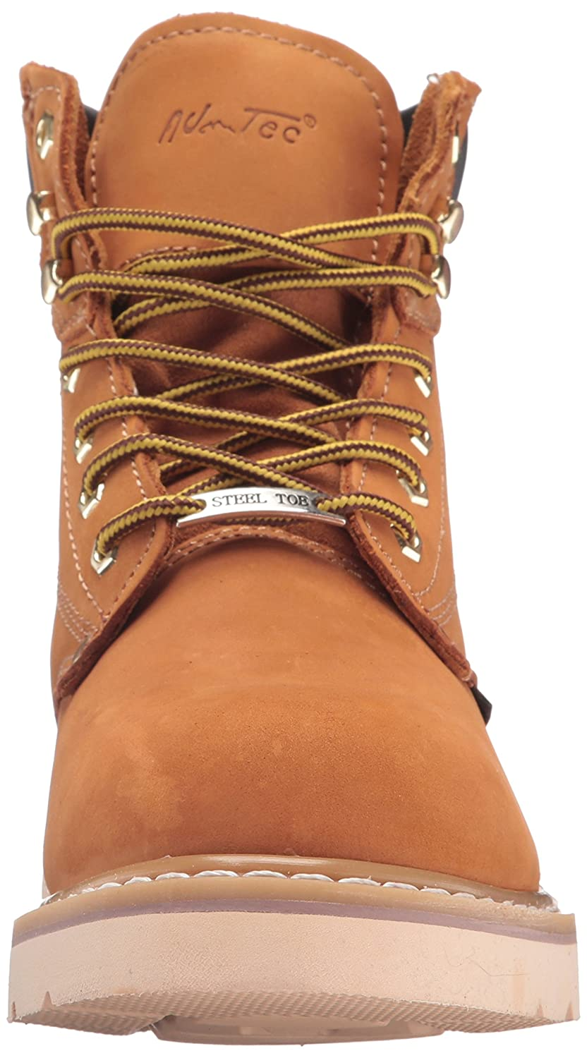 """Details about  /Ad Tec 1982 6/"""" Steel Toe Tan Work Boot Choose SZ//color"""