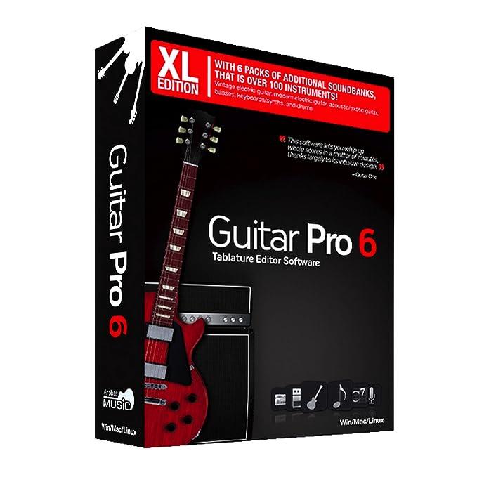 Guitar Pro 6 XL Editor-Multipista-Tabulaturas: Amazon.es: Electrónica