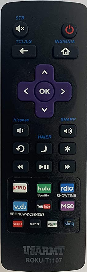 Amazon com: Universal Roku Remote for Roku STB, Hisense