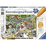 Ravensburger tiptoi Puzzle Au utilisation–00554/découvrir & ERLEBEN: La Variété riche motricité Jeu pour enfants de 5–8ans, 100Pièces