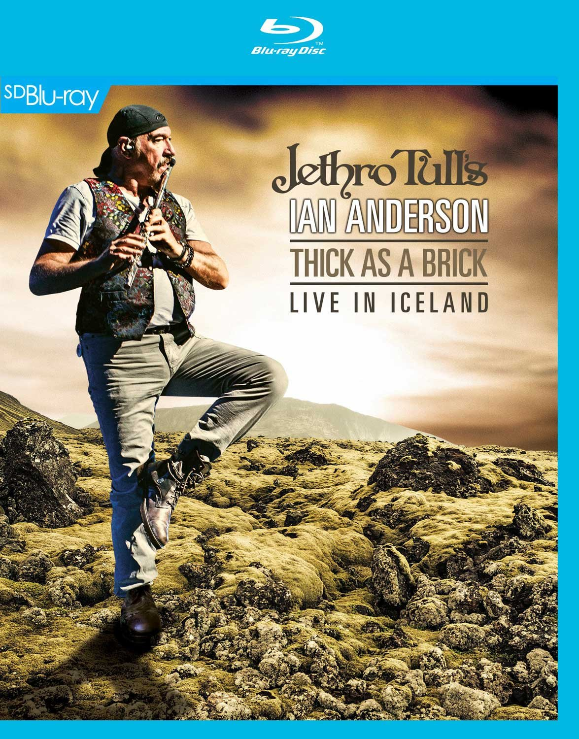 Blu-ray : Jethro Tull's Ian Anderson - Thick As a Brick Live in Iceland (Blu-ray)