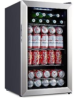 Kalamera 93 Can Compressor Beverage Refrigerator   Beer Cooler